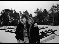 last picture ever taken of Pattie Boyd and George Harrison.