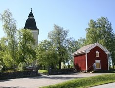 Jurvan kirkko. Finland, Grave Monuments, Graveyards, Genealogy, Northern Lights, Cabin, Traditional, House Styles, Cabins