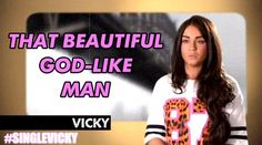 . God like man. Geordie shore. Quote. Vicky