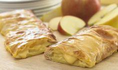 Apple Filo and custard tart