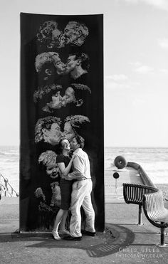 The Brighton Kiss Wall
