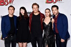 Outlander starsTobias Menzies, Caitriona Balfe, Sam Heughan, Sophie Skelton, and Richard Rankin