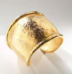 Jose and Maria Barrera Gold Cuff