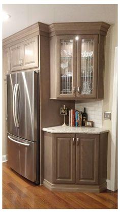 Diy Kitchen Remodel, Kitchen Redo, Home Decor Kitchen, New Kitchen, Kitchen Cabinets, Kitchen Ideas, Kitchen Makeovers, Kitchen Appliances, Corner Cabinets