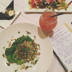 couscous salad at The Union Kitchen | Adventures in a New(ish) City #houston #texas #food #foodblogger #rum #newishcityHOU