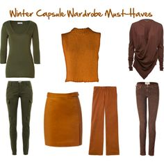 Autumn's Warm Weather Capsule Wardrobe Must-Haves Brown Long Sleeve Shirt, Long Sleeve Shirts, Capsule Outfits, Capsule Wardrobe, Three Color Combinations, Warm Autumn, Deep Autumn, Seasonal Color Analysis, Fall Winter Outfits