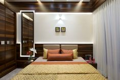 Modern Contemporary Bedroom design K Wardrobe Design Bedroom, Room Design Bedroom, Bedroom Furniture Design, Modern Bedroom Design, Home Room Design, Contemporary Bedroom, Home Interior Design, House Design, Contemporary Furniture