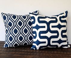 Throw pillow covers 16 x 16 inches pair of two by ThePillowPeople, $32.00