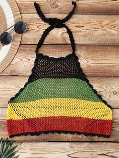 GET $50 NOW   Join Zaful: Get YOUR $50 NOW!http://m.zaful.com/color-block-halter-crochet-swim-top-p_266993.html?seid=5t9gkdnuoj3n09b53ajsnvdrn5zf266993