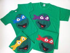 Camisa Tartaruga Ninja Mais