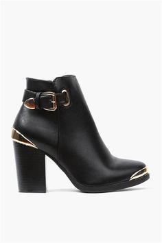 Apollo Bootie in Black ➨ http://necessaryclothing.hardpin.com/tracker/c.php?m=HardPin&u=type337&url=http://www.necessaryclothing.com/shoes/new/NCC11199-Apollo-Bootie-in-Black?via=HardPin&u=type337