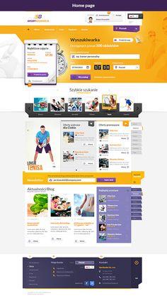 Sport Booker on Web Design Served