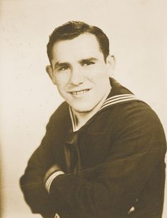 "Lawrence Peter ""Yogi"" Berra (born May 12, 1925) is a former American Major League Baseball catcher, outfielder, and manager. He joined the U.S. Navy where he served as a gunner's mate during World War II and was part of the landing teams in the D-Day invasion. A German machine gun bullet hit his hand almost cancelling his baseball career."