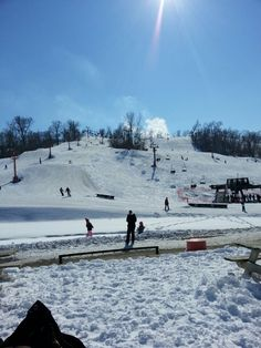 Snow Creek Ski Area in Weston, MO