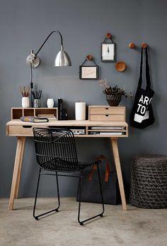 Hübsch tijdschriftenhouder wol incl. lederen handvaten (Diy Furniture Small Spaces)