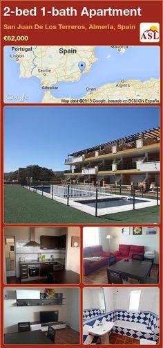 2-bed 1-bath Apartment in San Juan De Los Terreros, Almeria, Spain ►€62,000 #PropertyForSaleInSpain