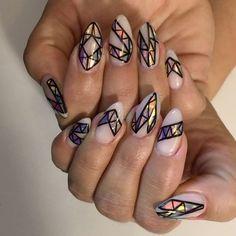 "3,999 Likes, 49 Comments - SO HOT RIGHT NAIL (@sohotrightnail) on Instagram: ""mosaics for @kandiceyo ✨➖   inspired by @tonysnail """