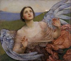 "Annie Louisa Swynnerton, ""The Sense of Sight"", 1895 (Walker Art Gallery) Google Art Project, Sense Of Sight, Art Gallery, William Adolphe Bouguereau, I Believe In Angels, Walker Art, Angels Among Us, Pre Raphaelite, Angel Art"