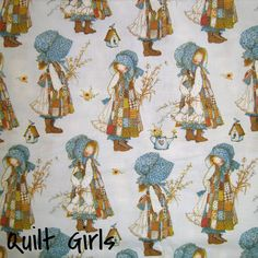 Holly Hobbie Fabric to sew