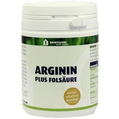 ARGININ Plus Folsäure Kapseln:   Packungsinhalt: 120 St Kapseln PZN: 09156123 Hersteller: Quintessenz health products GmbH Preis: 14,92…