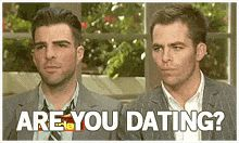 zachary quinto and chris pine (gif)