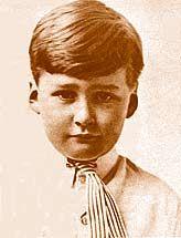 Errol Flynn aged 4