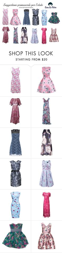 """suggestioni primaverili estate"" by laralabiche ❤ liked on Polyvore featuring Gai Mattiolo, Elie Tahari, Dorothy Perkins, Weekend Max Mara, Notte by Marchesa, WithChic and Elizabeth and James"