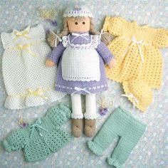 Samantha Doll Crochet ePattern