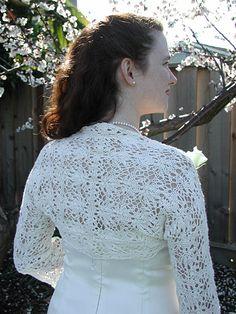 Free Knitting Pattern - Women's Shrugs, Wraps & Capes: I Do Shrug