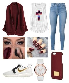 """❤"" by fashion-1407 on Polyvore featuring 7 For All Mankind, NIKE, Marc by Marc Jacobs and Michael Kors"