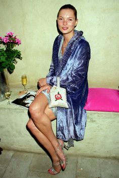Kate in velvet.
