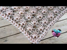 Lost in time shawl Türkçe Anlatımı Part 2 Shawl Crochet, Lidia Crochet Tricot, Knitted Shawls, Crochet Scarves, Knit Crochet, Crochet Simple, Crochet Videos, Crochet Projects, Free Pattern