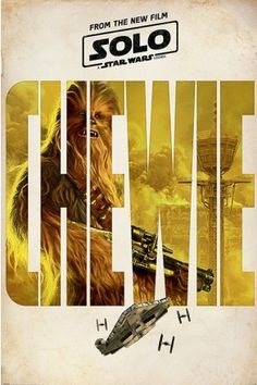 Solo: A Star Wars Story Chewie Teaser Maxi Poster