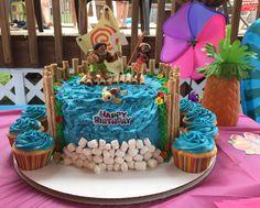 MY CAKE - Marley's 6th Birthday Moana