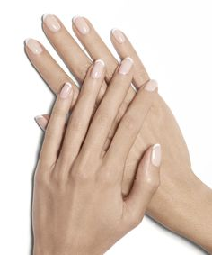 starter wife french manicure By Essie