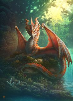 Gilthias, the Golden Dragon by gugu-troll on DeviantArt Mythical Creatures Art, Magical Creatures, Animal Espiritual, Elfen Fantasy, Mythical Dragons, Dragon Sketch, Cool Dragons, Dragon Artwork, Dragon Pictures