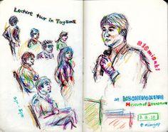 美崎栄一郎氏 Lecture tour in Toyama 2015 #moleskine