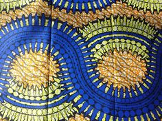 African Ankara Super Wax Print Fabrics For Sewing Fabrics For