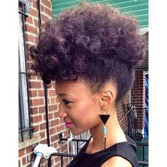 Coiffure cheveux crepus rapide