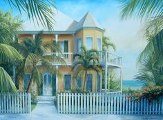 Emily James Art: Key West House