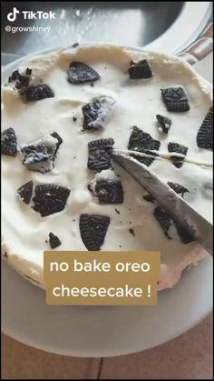 Fun Baking Recipes, Sweet Recipes, Dessert Recipes, Cooking Recipes, Oreo Dessert, Oreo Cake, Dessert Food, Dinner Recipes, Healthy Recipes