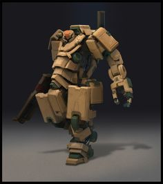 ArtStation - Gigantic Gear, GA 05 A-BRAMS II, IL Kim