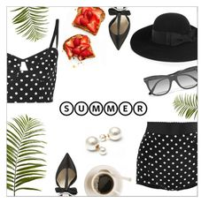 """""""Top It Off: Summer Hats"""" by danielle-487 ❤ liked on Polyvore featuring Dolce&Gabbana, Yves Saint Laurent, Pier 1 Imports, Olgana, Bottega Veneta and summerhat"""