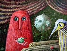In Magic Theatre by Leszek Kostuj