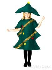 The Child Christmas Tree Costume includes a soft green Christmas tree outfit decorated with golden tinsel, yellow stars and red hearts. The Christmas tree costume also includes a coordinating green hat with yellow star detail. Christmas Tree Fancy Dress, Christmas Tree Costume, Christmas Trees For Kids, Childrens Christmas, Xmas Tree, Green Christmas, Tree Fancy Dress Costume, Fancy Dress Costumes Kids, Fancy Dress Outfits