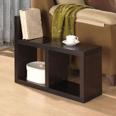 Shop for Carmeno Side Table, Espresso. Get free shipping at Overstock.com - Your Online Furniture Outlet Store! Get 5% in rewards with Club O!