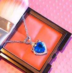Sapphire, Clermont, Rings, Jewelry, Budget, Dancing With The Stars, Necklaces, Blue, Accessories
