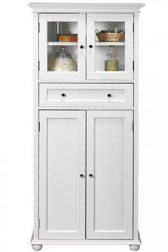 Hampton Bay 1-Drawer Tall Cabinet  Add Style to Your Decor with This Cabinet  Item # 47729  $159