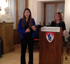 De. Deborah Da Costa gave the WHI group a presentation on Postpartum Depression.