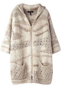 Isabel Marant hand-knit sweater.
